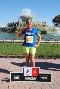 Christina Ramirez 2017 Chicago Marathon Finisher