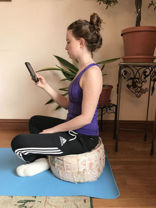 Text Neck: Correct Seated Posture