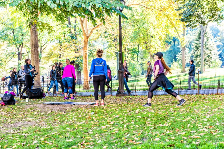 Free Fitness Classes in NYC