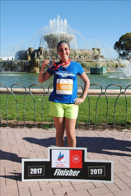 Christina Ramirez 2017 Chicago Marathon Finisher